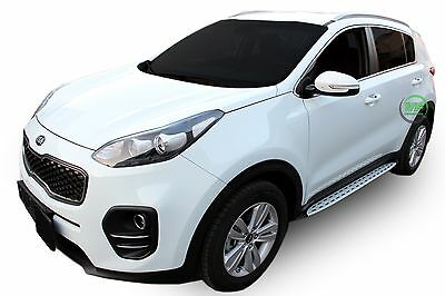 Running Boards Side Steps STYLISH DESIGN For Kia Sportage QL 2015-up • 129.95£