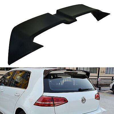 Abs Plastic Otg Style Look Race Sport Rear Spoiler Wing For Vw Golf Mk7 Gti R • 99.99£