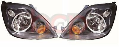 Ford Fiesta Mk6 2005 - 2008 Headlights Headlamps Pair Driver And Passenger Side • 164.99£