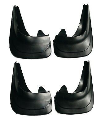 Front And Rear Universal Rubber Mud Flaps Splash Guard 01p • 12.98£