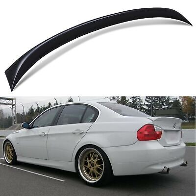 Oem Style Rear Boot Trunk Lip Spoiler Wing For Bmw 3 Series E90 Saloon 06-11 • 49.99£