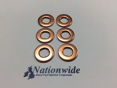 BMW 330 D 3.0 Common Rail Diesel Injector Washers/Seals X 6 • 5.99£
