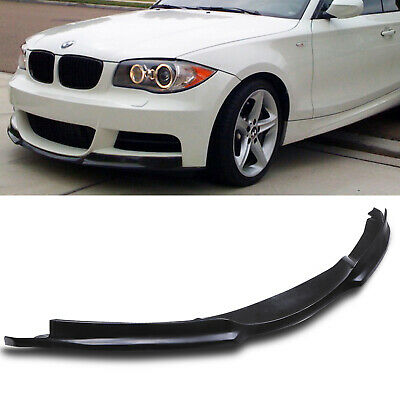 M Tech Front Bumper Lower Lip Chin Spoiler Splitter For Bmw 1 Series E82 07-11 • 139.99£