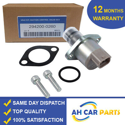 Denso Fuel Pump Pressure Suction Control Valve Vauxhall  294200-0260 • 54.75£