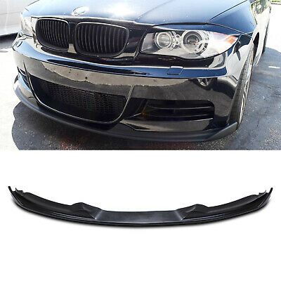 Polyurethane Front Bumper Lip Chin Splitter Spoiler For Bmw 1 Series E82 07-11 • 99.99£