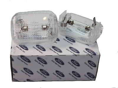 A Pair Of Rear Interior Lamp Light For Ford Transit Mk6 Mk7 2000-2014 Genuine • 12.95£