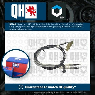 VAUXHALL VECTRA C 1.9D Handbrake Cable Rear 02 To 08 Hand Brake Parking QH New • 23.67£