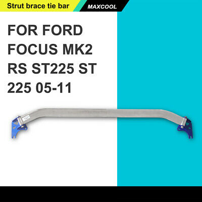 Alloy Front Upper Strut Brace Tie Bar Fits Ford Focus Mk2 Rs St225 St 225 05-11 • 75.11£