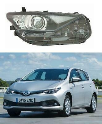 Toyota Auris 2015 - 2019 Headlight Halogen Driver Side Led Drl 8113002k40 New • 178.49£