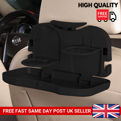 Universal Folding Auto Car Back Seat Table Drink Food Stand Desk Cup Tray Holder • 6.99£