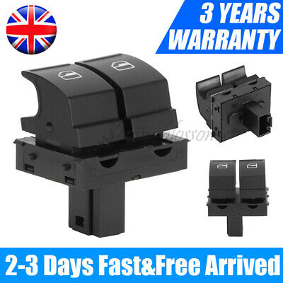 New Electric Window Switch Driver Side For Skoda Fabia Mk2 Roomster 1z0959858 Uk • 8.08£