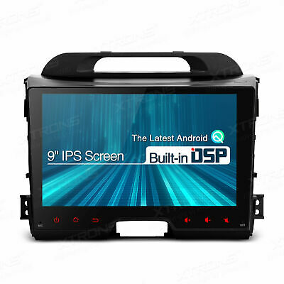 9  IPS Car Android 10.0 Stereo GPS DSP Radio Head Unit For Kia Sportage Series 3 • 189.99£