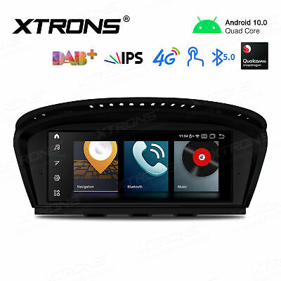 Android 10.0 Car Stereo GPS Navigation Radio 4-Core For BMW E90/91/92/E63/64 CIC • 365.99£