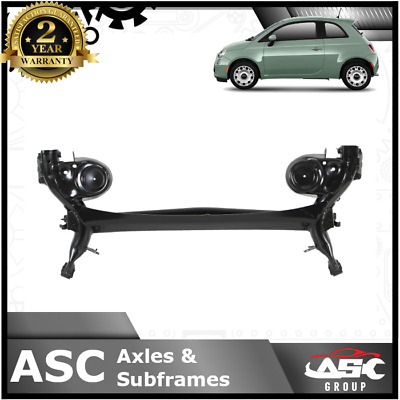NEW Rear Axle Subframe - Fits Fiat 500 (312_) 2007- With Rear Drums - 51857053 • 174.95£