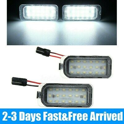 2X LED Licence Number Plate Light For Ford Focus MK FIESTA S-MAX Jaguar XJ XF SP • 10.59£