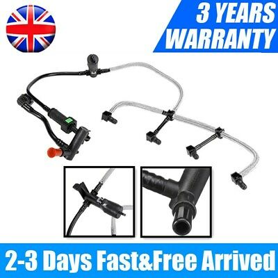 FOR FORD TRANSIT CONNECT MONDEO 1.8 TDCI DIESEL LEAK OFF FUEL PIPE W SENSOR SPR • 16.09£