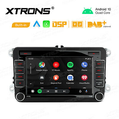 7  Android 10 Car Stereo Radio GPS Car Auto Play DSP 2GB+32GB For VW Jetta Golf • 164.99£