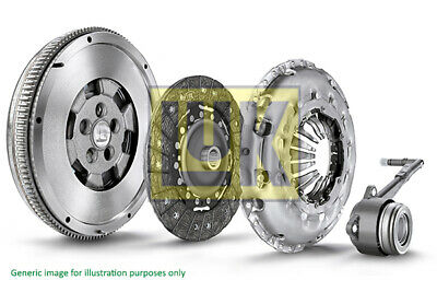 Dual Mass Flywheel DMF Kit With Clutch And CSC Fits OPEL CORSA D 1.7D 06 To 11 • 401.57£