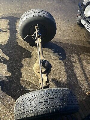 1977 Land Rover Series 3 Front + Rear Axle • 130£