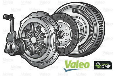 Dual Mass Flywheel DMF Kit With Clutch And CSC Fits PEUGEOT 3008 0U 1.6D Valeo • 370.74£
