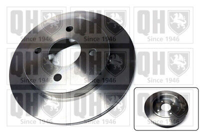 2x Brake Discs Pair Solid Fits FORD FOCUS Mk1 Rear 1.8 1.8D 98 To 05 253mm Set • 21.23£