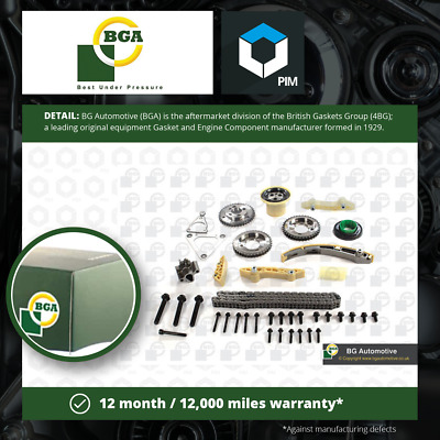 Timing Chain Kit Fits FORD MONDEO Mk3 2.2D 04 To 07 BGA 1097637 1102609 1102610 • 264.48£
