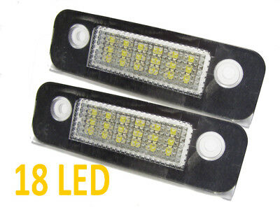 2x 18 LED License Number Plate Lamps Light For Mondeo MK2 Fiesta MK6 Fusion • 14.09£