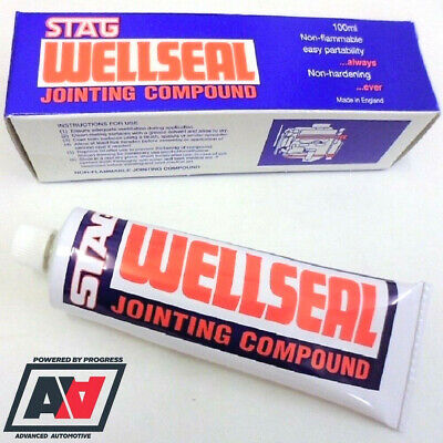 WELLSEAL JOINTING COMPOUND 100ml TUBE ADV • 12.55£