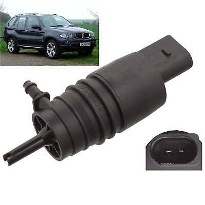Front Or Rear Windscreen Washer Pump BMW X5 2000 To 2006 3.0d V8 SE Sport E53 • 9.79£