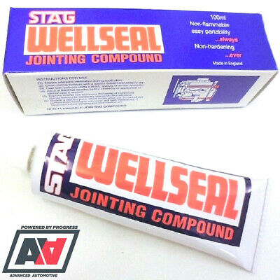 Head Gasket Compound Stag Wellseal Jointing Sealer Handy 100ml Tube Adv • 12.55£