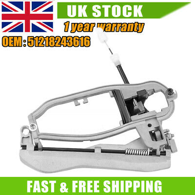 Door Handle Carrier For BMW X5 E53 Inner Front Right Driver Side 51218243616 HQ • 22.99£