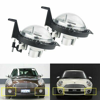 2x Front Bumper Fog Light DRL For Mini Cooper Clubman Roadster Countryman One • 46.80£