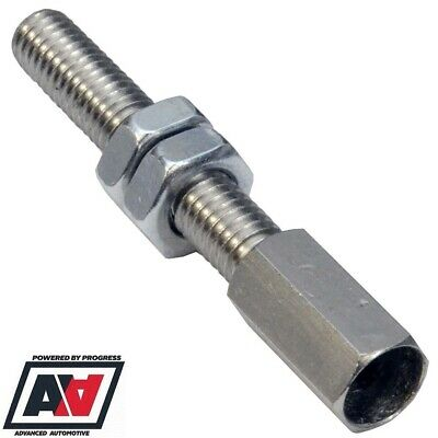 Sytec Motorsport Throttle Cable Adjuster & Nuts 35mm Weber Twin DCOE Linkage ADV • 3.61£