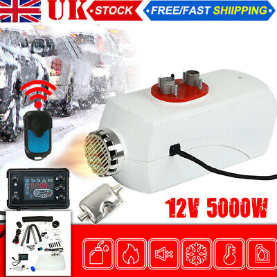 12V 5000W Diesel Air Night Fuel Heater  LCD Remote For Car Truck House Home Hot • 85.99£