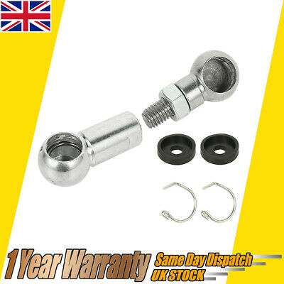 Clutch Pedal Link Linkage Ball Joint Bar Rod Kit For Renault Clio Twingo Kangoo • 12.99£