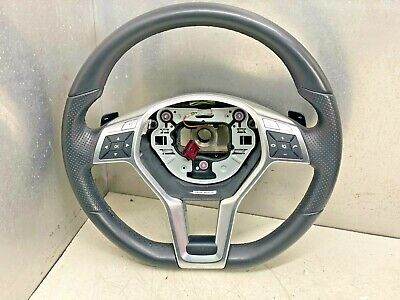 Mercedes E Class Facelift W212 Leather Steering Wheel A1724604203 • 100£