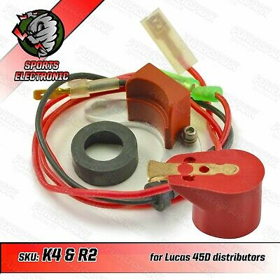 45D 43D & 59D Powerspark Electronic Ignition Kit Comes Complete W/ Red Rotor Arm • 34.95£