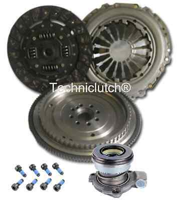 Dual Mass To Single Flywheel, Clutch Kit And Csc For Opel Corsa C 1.3 Cdti • 128.74£