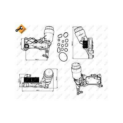 Fits Mercedes CLS X218 CLS250 CDi Genuine NRF Engine Oil Cooler • 138.37£