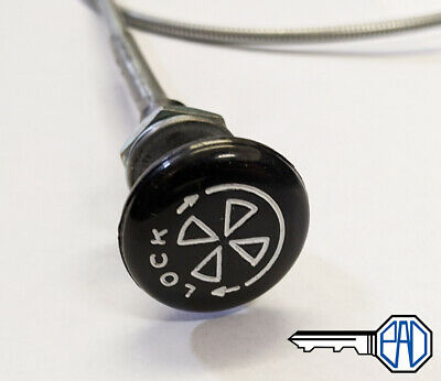MG MGB / MGB GT Choke Cable, Turn & Lock Type, BHH653 • 16.95£