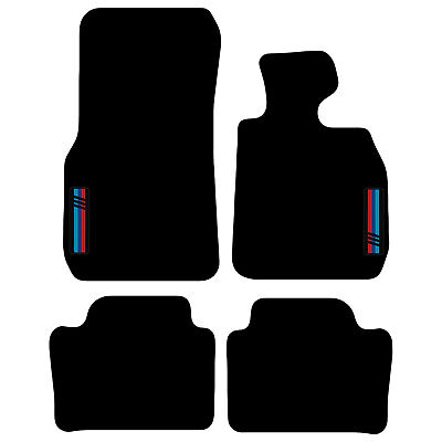 Tailored Carpet Car Floor Mats FOR BMW 3 Series F30 F31 2011 Onwards With Logo • 19.99£