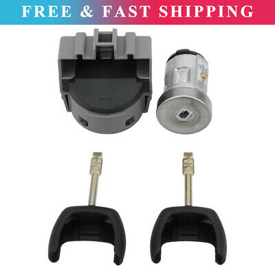 Ignition Barrel Cylinder Repair Kit Fits For Ford Fiesta 2001-08 Transit 2006-13 • 16.88£