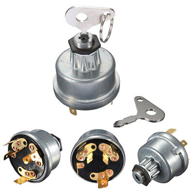Tractor Ignition Switch With 2 Keys For Lucas 35670 Messey Ferguson Universal UK • 6.59£
