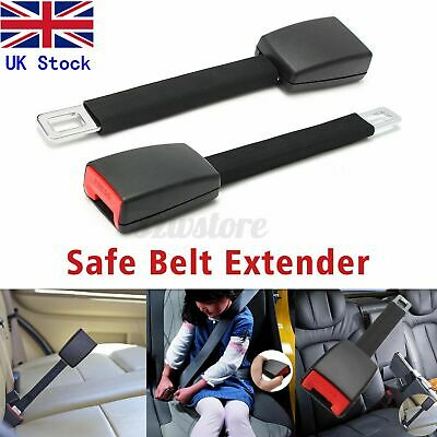 Universal Car Auto Safety Seat Belt Seatbelt Extender Extension Buckle Clip UK • 8.38£