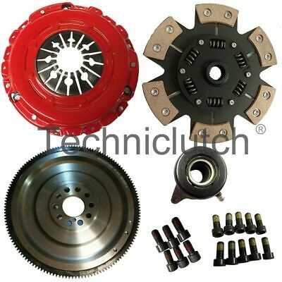 Smf Flywheel And 6 Paddle Clutch Kit For Ford Focus Hatchback 2.5 Rs • 499£
