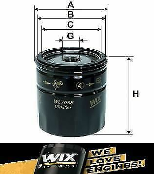 NEW Genuine WIX Replacement Oil Filter WL7098 • 3.99£
