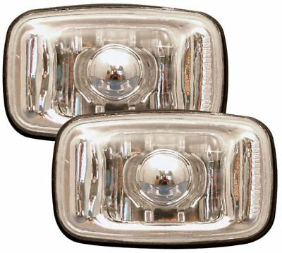 Toyota Land Cruiser 98- Crystal Clear Chrome Side Light Repeater Indicators • 21.95£