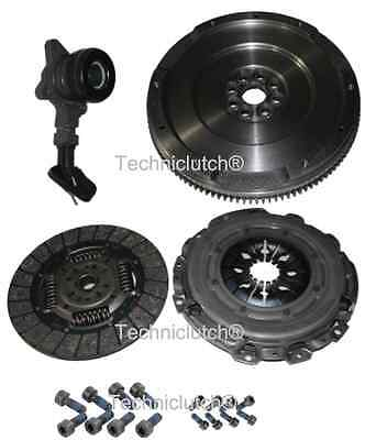 Ford 1.8 Tdci S Max 6 Speed Dual Mass To Single Flywheel, Clutch Kit, Csc, Bolts • 138.74£