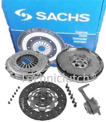 Vw Bora 1.9 Tdi Ajm Sachs Dual Mass Flywheel And A Clutch Kit With Csc And Bolts • 279.94£