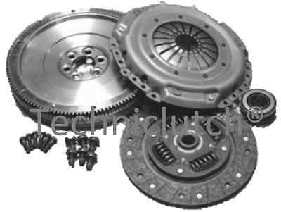 Clutch Kit And Flywheel With Bolts For Vw Volkswagen Golf 1.9 Tdi 1.9tdi Mkv 5  • 117.99£
